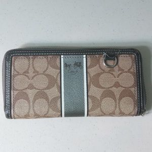 Authentic Coach Wallet Used
